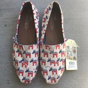 TOMS DEMO/donkey shoe size 8